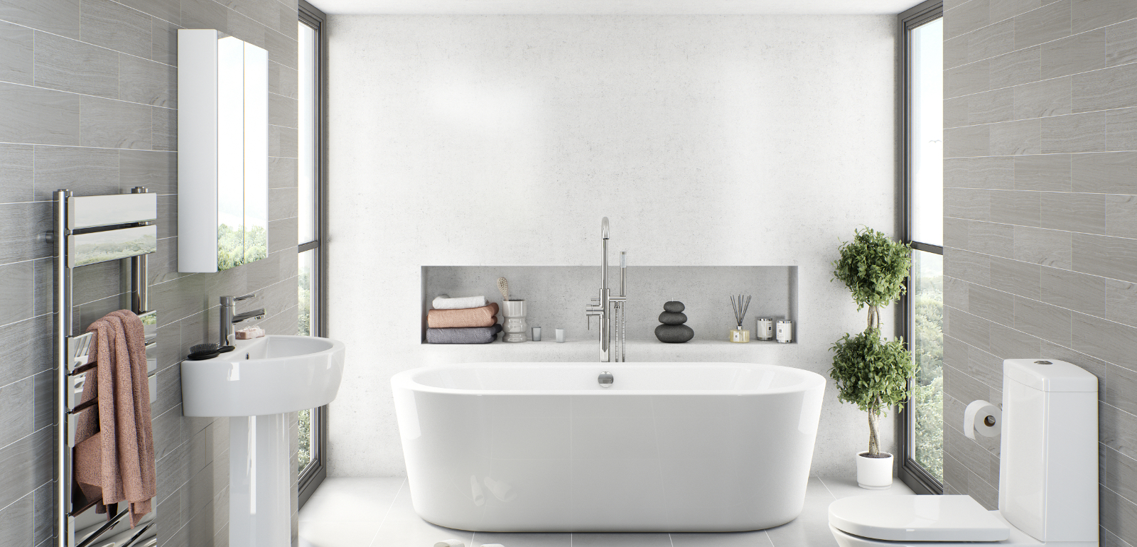 How To Install Your Own New Bathroom Homes Decorating Blog
